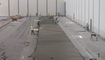 SuperFlat Long Strip Floor Construction