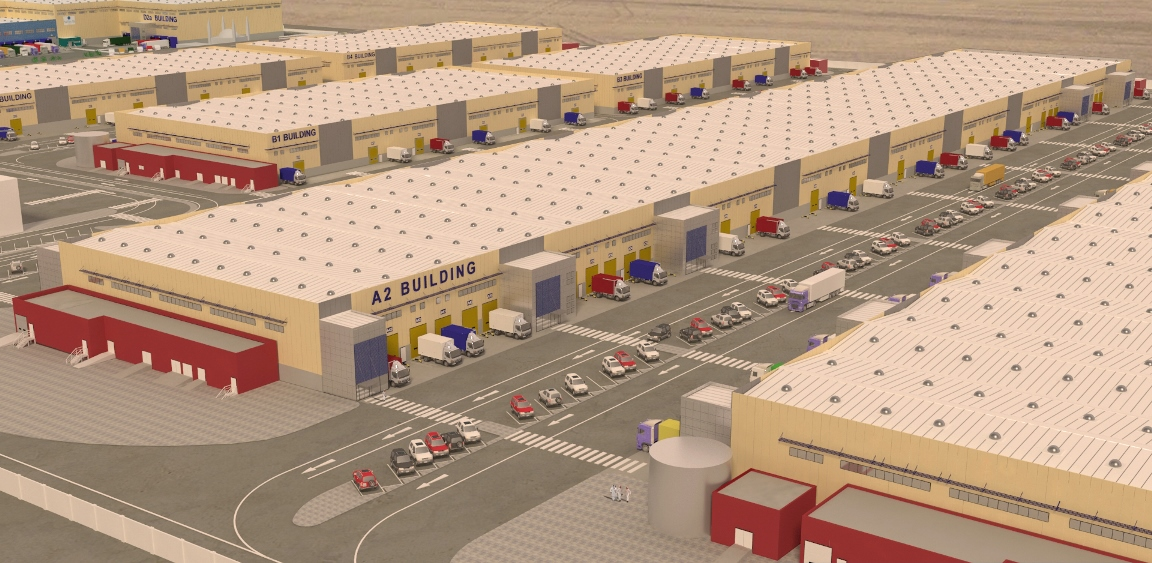 Award of 95,000m2 Jointed SOG for Ali Bin Ali Logistics Park